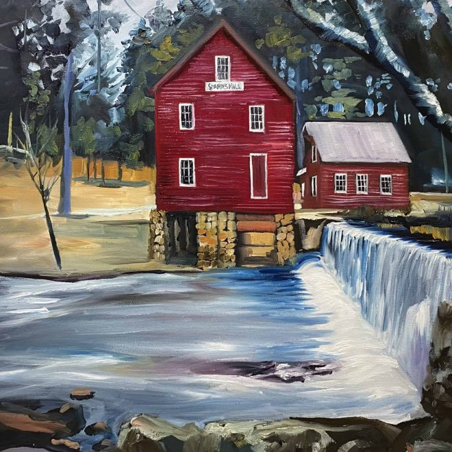 starr's Mill Augusta Georgia art