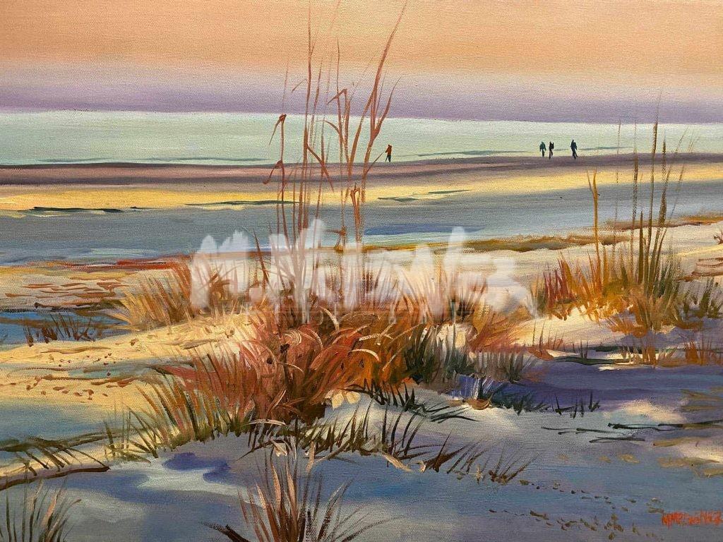 Sunrise Beach painting
