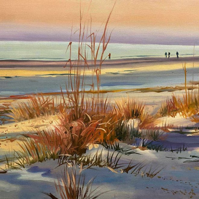 Sunrise Beach painting