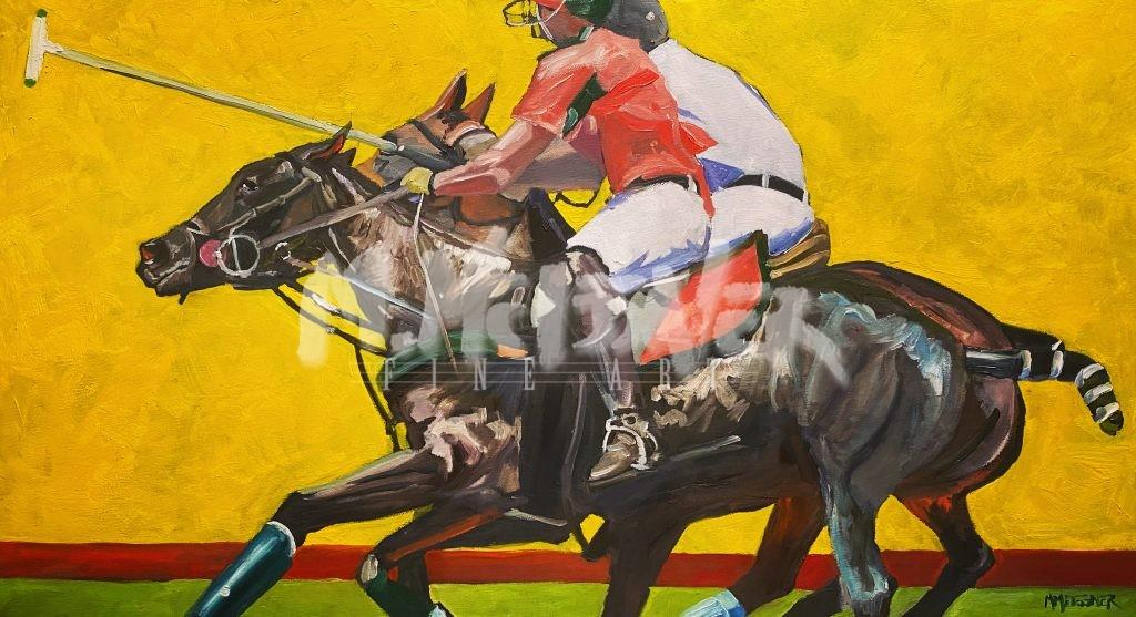 Polo Pony Painting